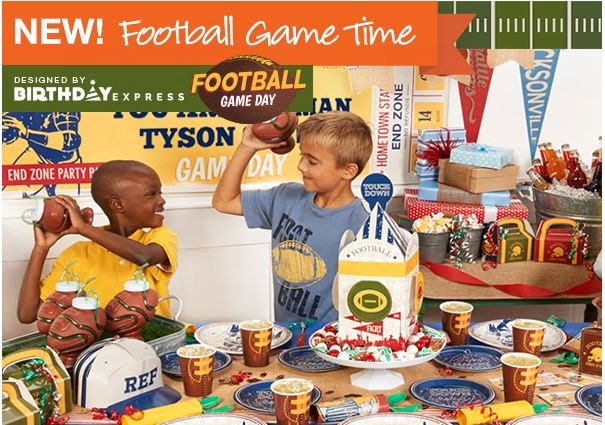 Boys Football Theme Party, Football Birthday Party Ideas