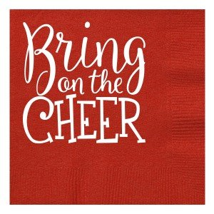 Bring On The Cheer Beverage Napkins