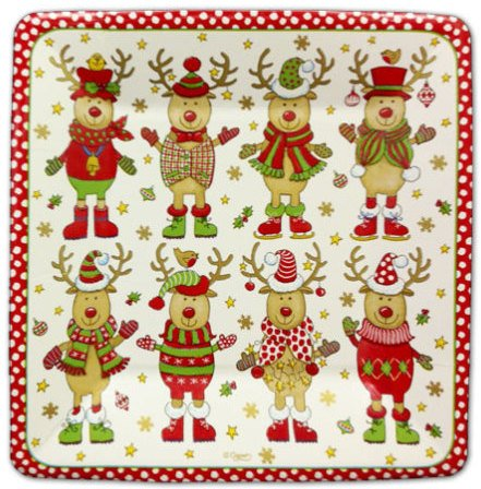 Christmas Sweater Party Dessert Plates