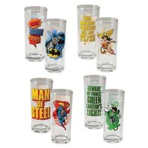 DC Comics Glass Set