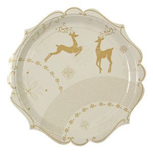 Crystal Christmas Plate