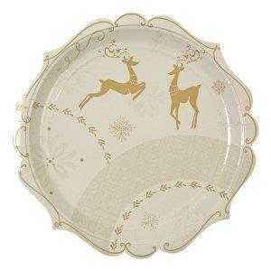 Crystal Christmas Plate