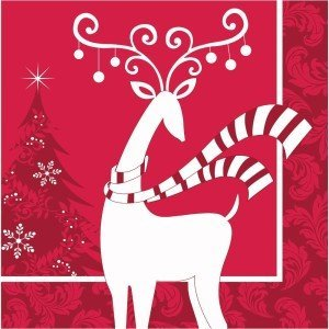 Dashing Prancer Beverage Napkins