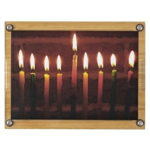 Festival of Lights Menorah Cheese Board