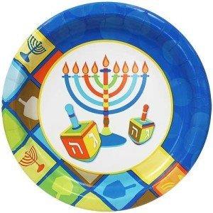 Hanukkah Paper Plates