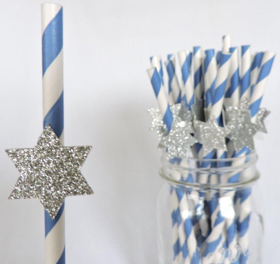 Hanukkah Straws
