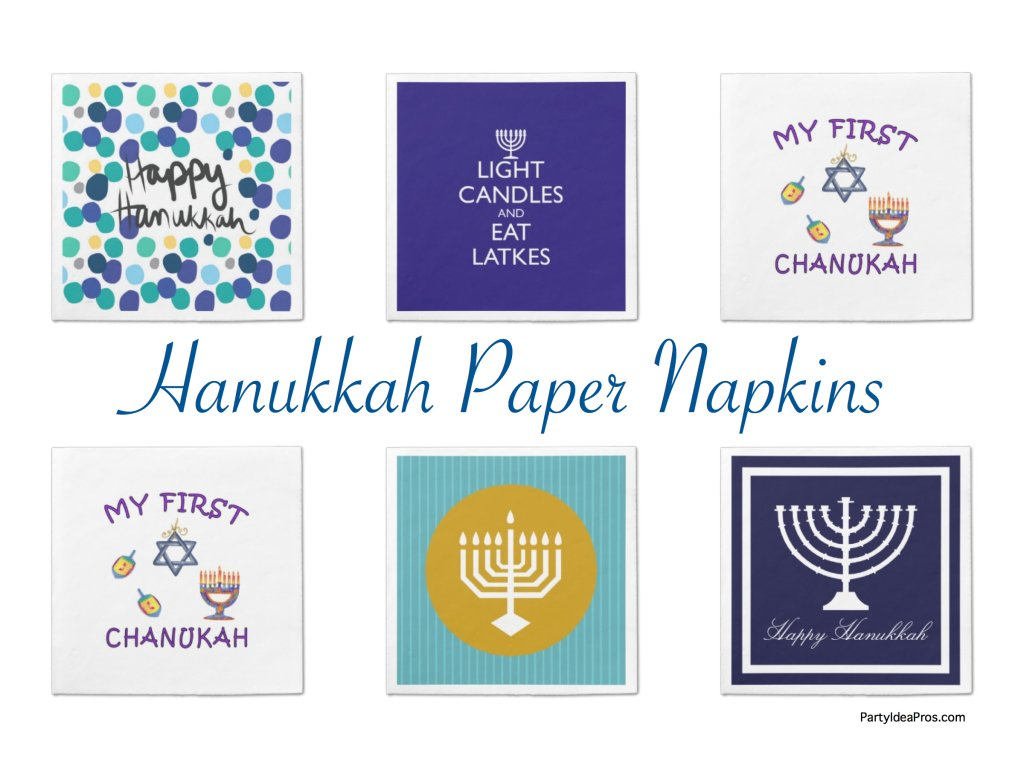 Hanukkah Paper Napkins