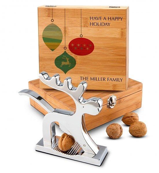 Holiday Reindeer Nutcracker Gift Set