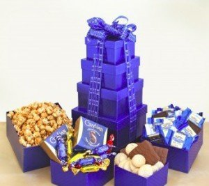 Kosher Snack Tower Gift Basket