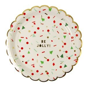 Merry Confetti Large Plates