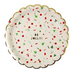 Merry Confetti Large Plates