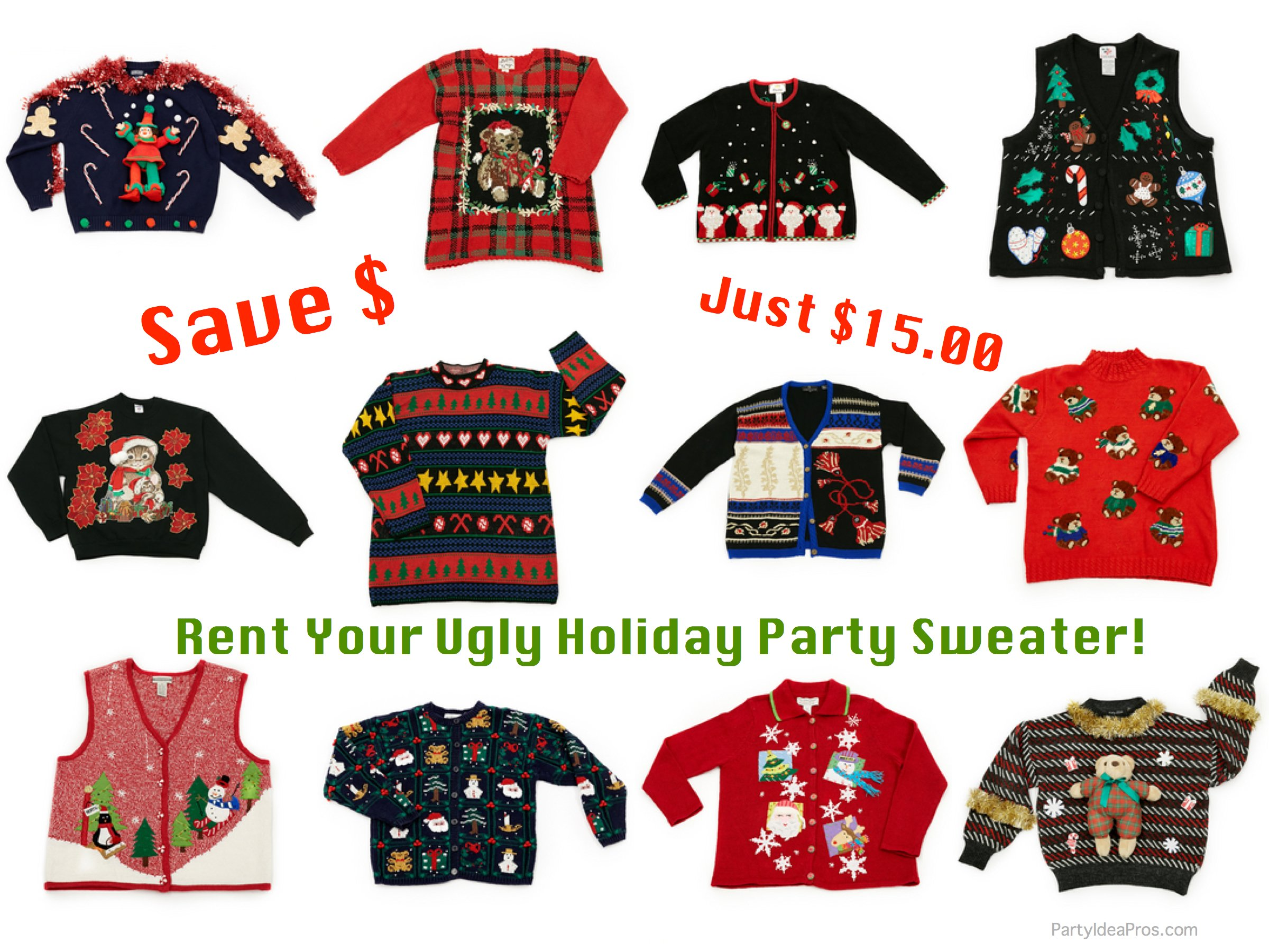 Tacky Sweater Christmas Party Games 28