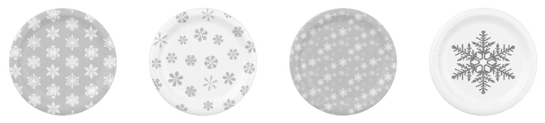 Silver Snowflake Paper Plates  sc 1 st  Party Idea Pros & Pink Winter One-derland Party Planning Ideas and Supplies | Party ...