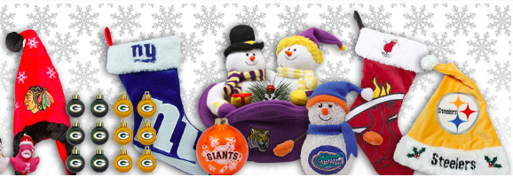 Sport Team Holiday Decor Gifts