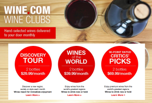 Wine dot com Wine Clubs