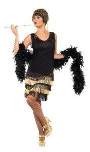 1920s Fringed Flapper Costume