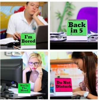 29 Fun & Practical Flip-over Office Messages