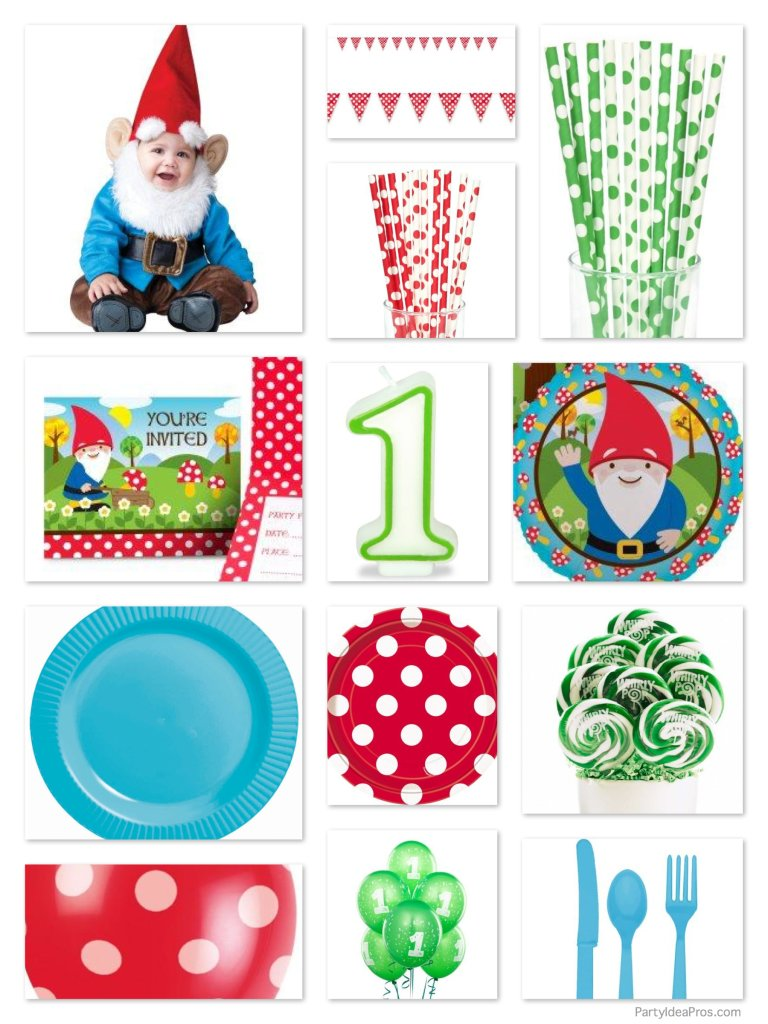 Our Own Little Christmas Gnome Birthday Party Planning Ideas