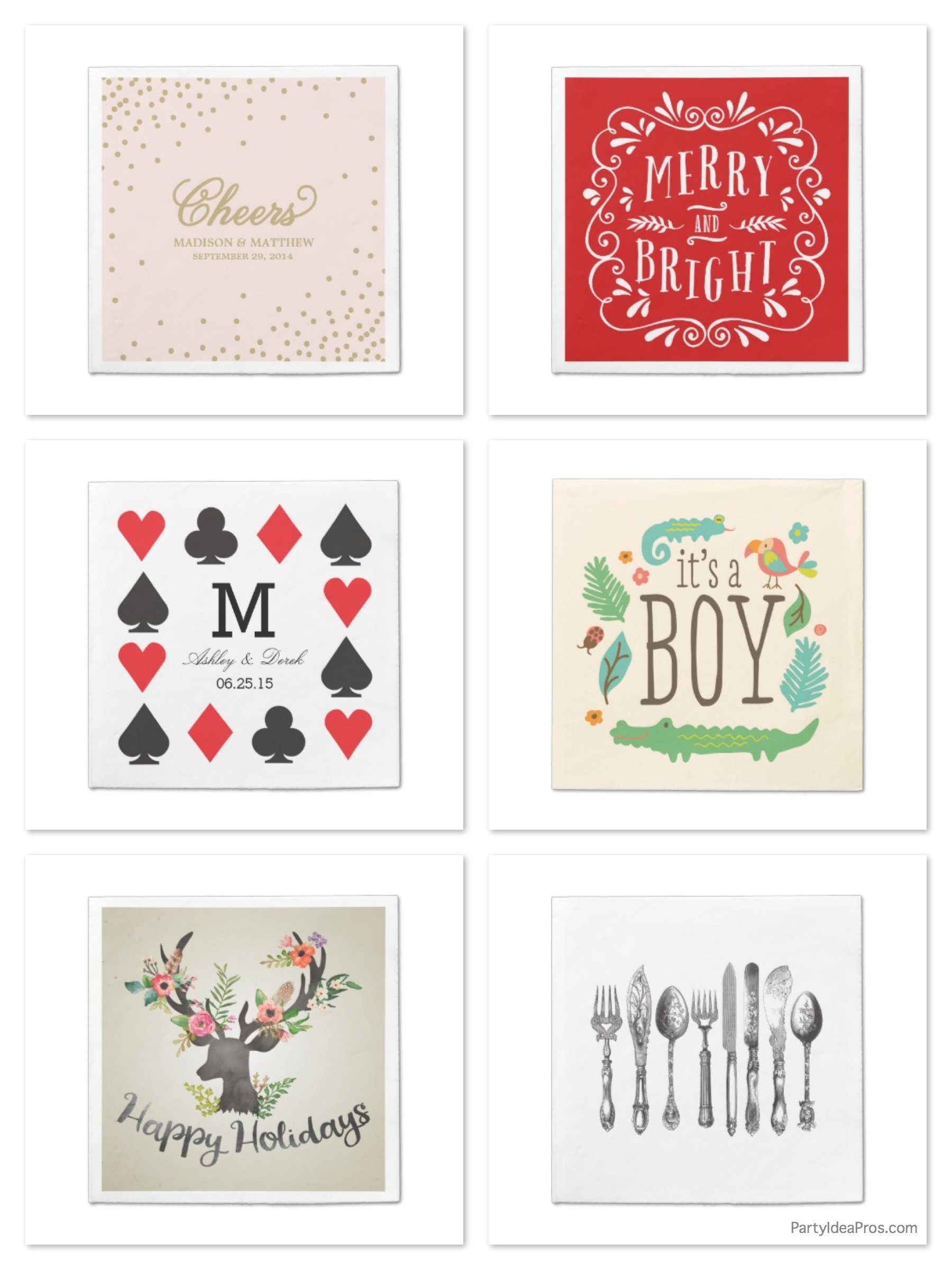 Custom Paper Napkins, Zazzle Custom Paper Napkin Sale - 65% OFF Today Only!