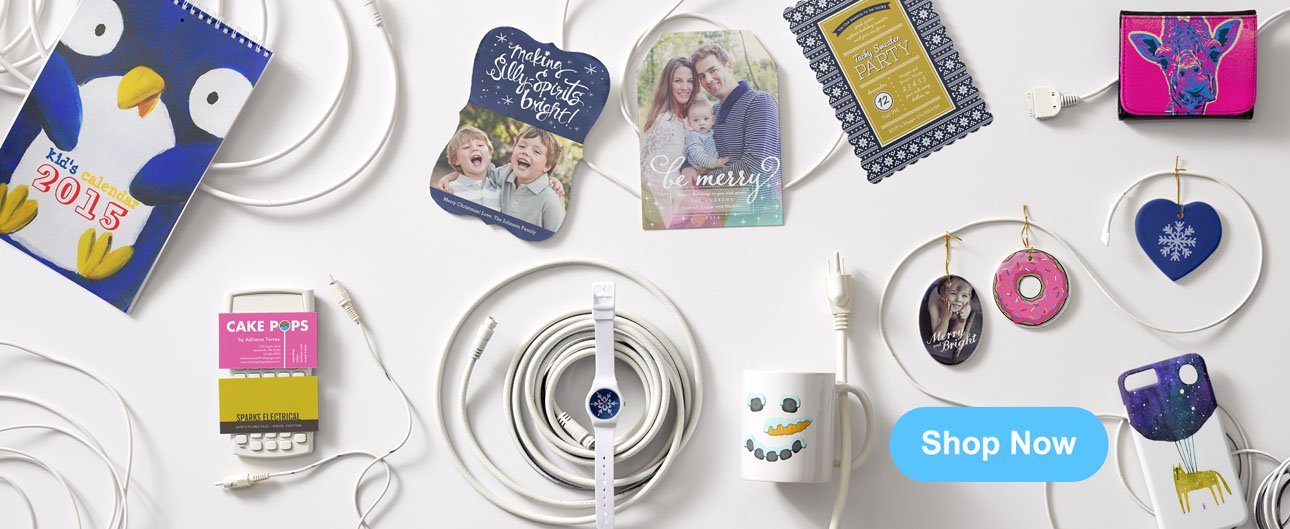 Zazzle Cyber Week Products Assortment
