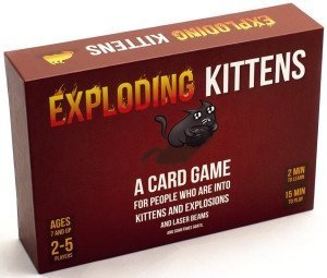 Exploding Kittens, Holiday Grab Bag, White Elephant Gift Exchange, Stocking Stuffers & Gag Gift Ideas