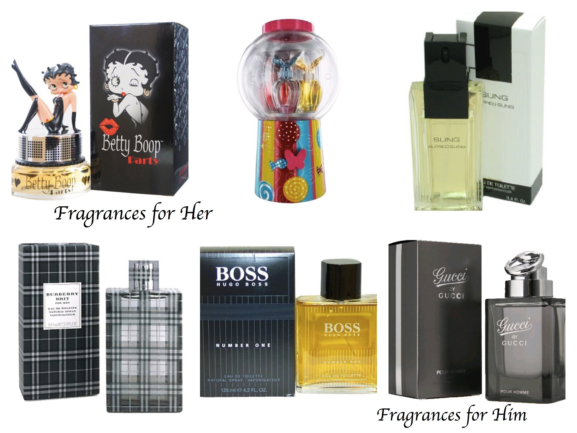 Fragrances for Him and Her, Valentines Day Stocking Stuffers