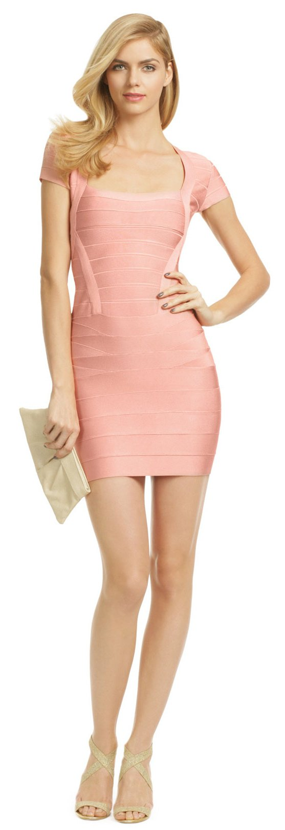 Herve Leger Guys Kind Of Girl Dress