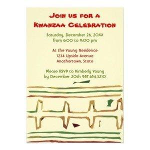 Kwanzaa Celebration Invitations