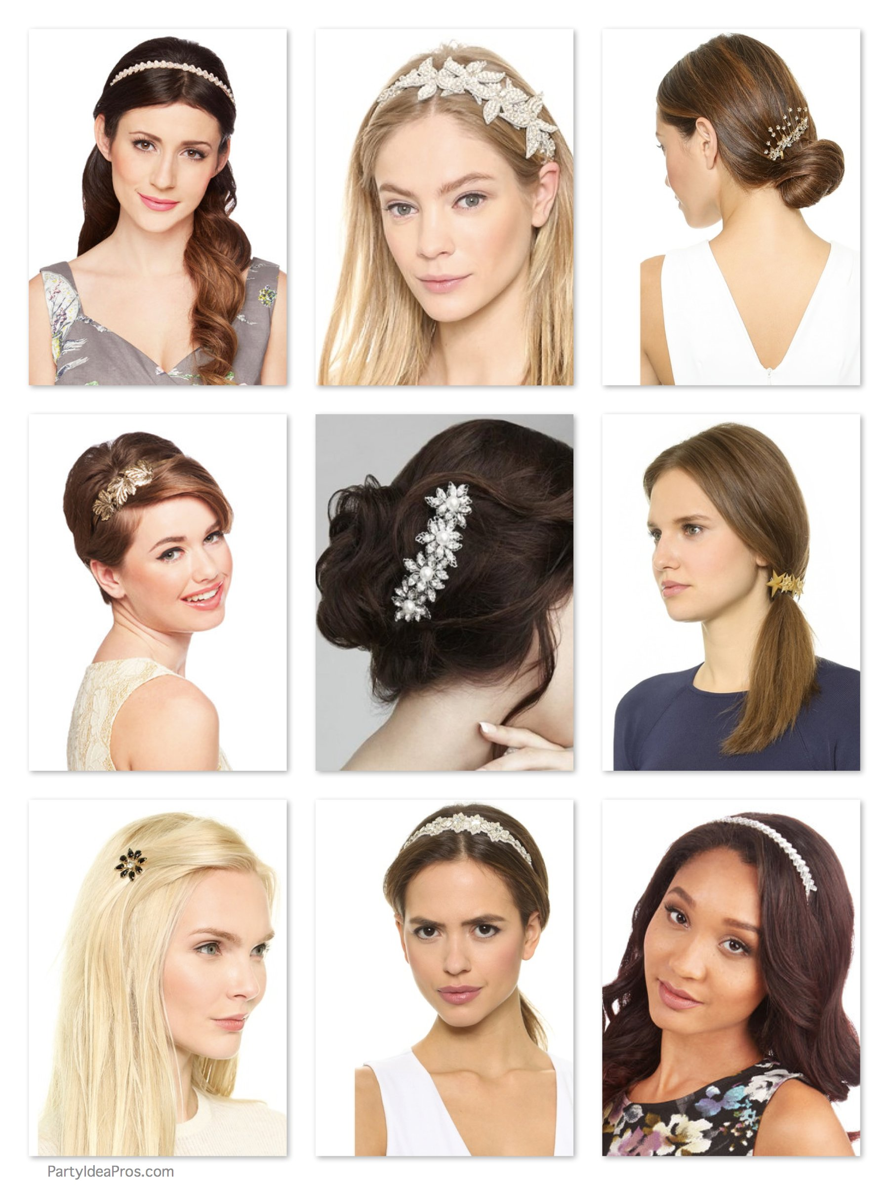 Party Pretty Hair Ornaments, Hair Tricks to Make You Look Years Younger
