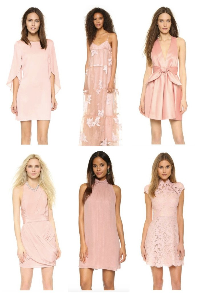Rosy New Years Dresses