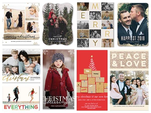 tiny prints trending holiday cards on sale christmas hanukkah