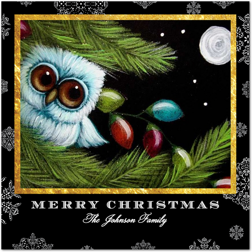 Tiny Prints Night Owl Holiday Card Flash Sale