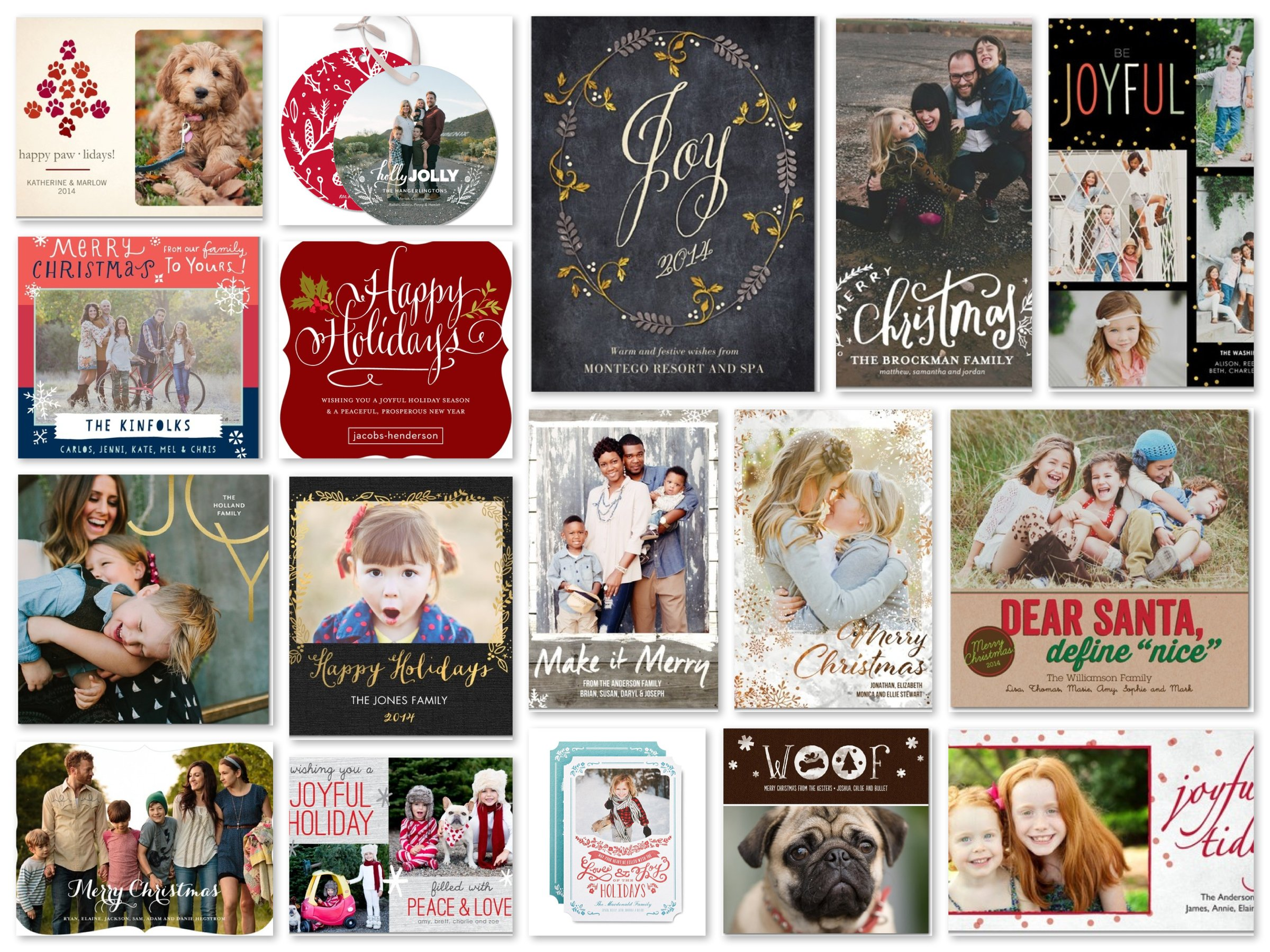 Tiny Prints Trending Holiday Cards - On Sale!