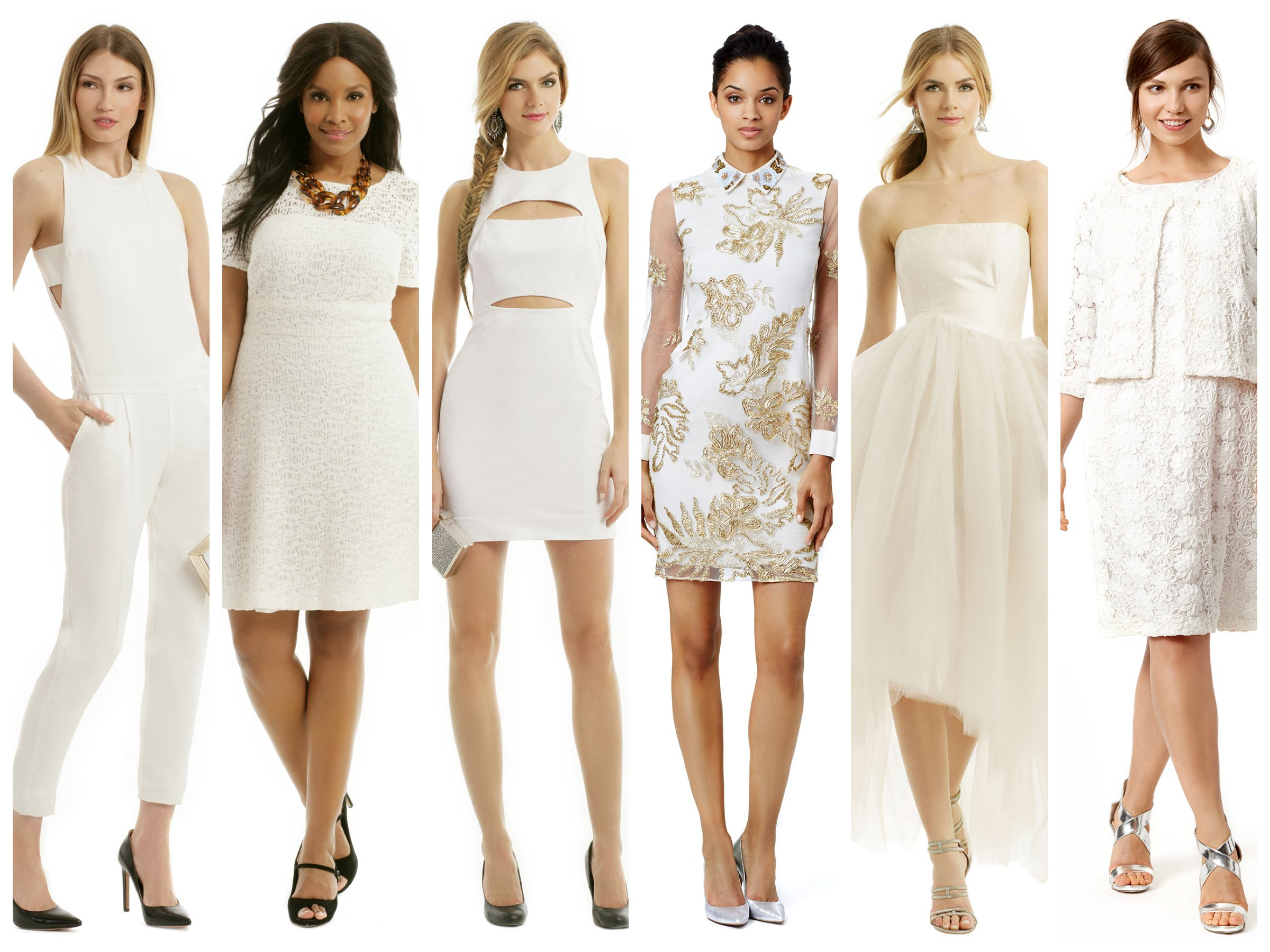 White Dresses for New Years Eve, Party Pretty in White
