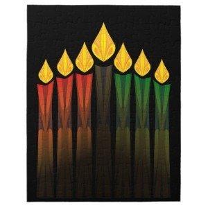 kwanzaa candles jigsaw puzzles
