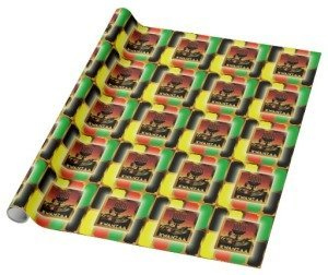 kwanzaa wrapping paper