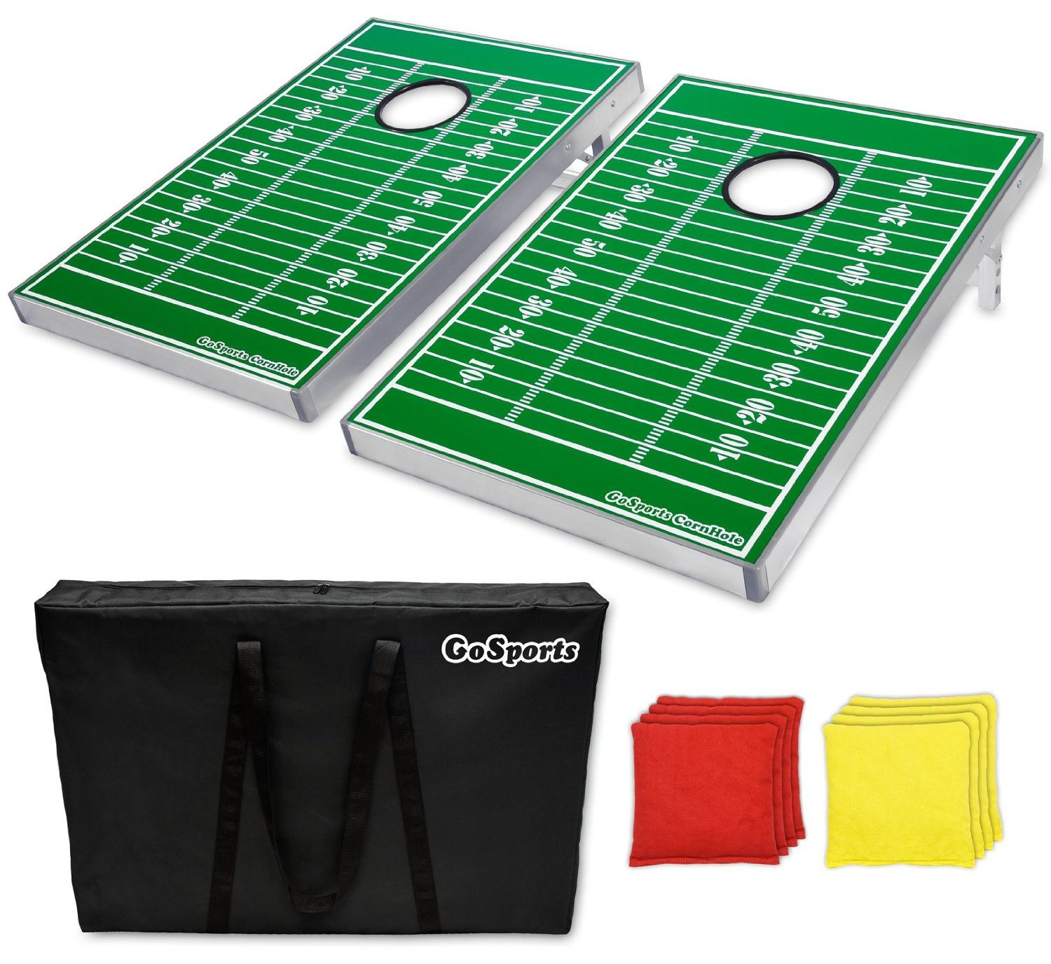 Football Corn Hole Bean Bag Toss Set