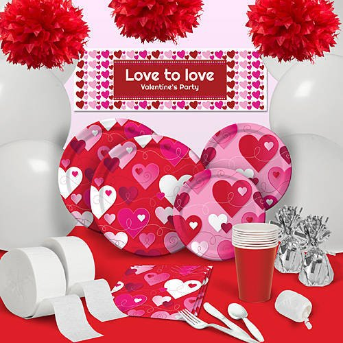 Hearts and Swirls Party Supplies