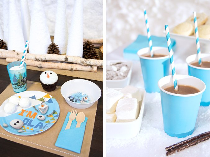 Hot Cocoa for your Frozen Party, Frozen Party Planning, Ideas & Supplies