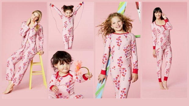 Mommy and Me Matching Pajamas | PartyIdeaPros.com