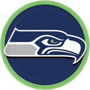 NFL Team Seattle Seahawks Dinner Plates