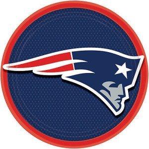 New England Patriots Dinner Plates