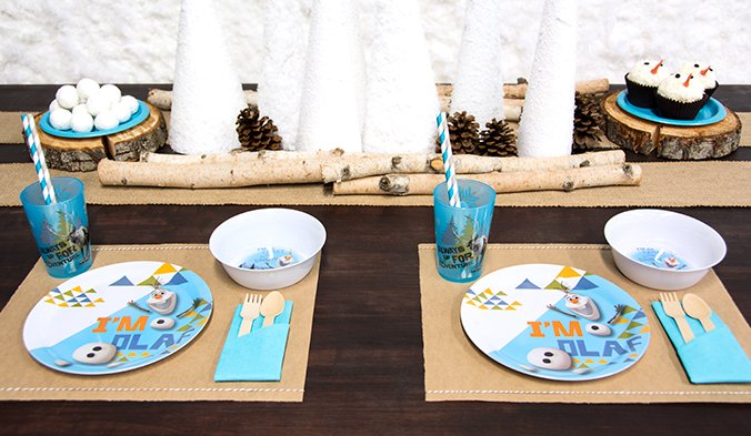 Olaf Frozen Party Theme, Frozen Party Planning, Ideas & Supplies