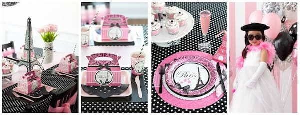 Paris Themed Birthday Party Ideas
