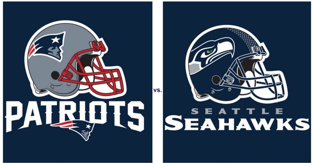 Patriots vs. Seahawks Party Supplies