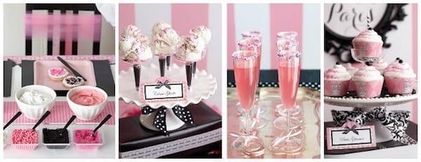 Pink Paris Damask Party Ideas