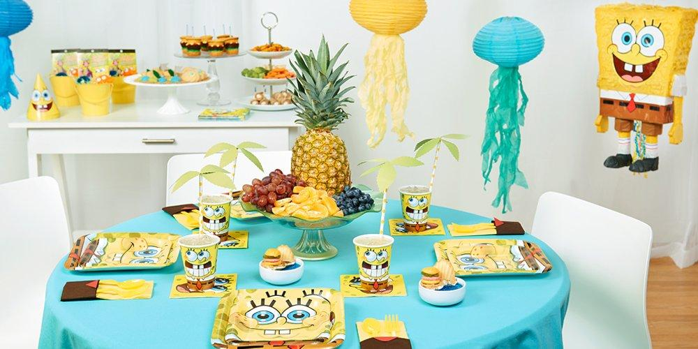 becde64c69e0a SpongeBob SquarePants Birthday Party Supplies