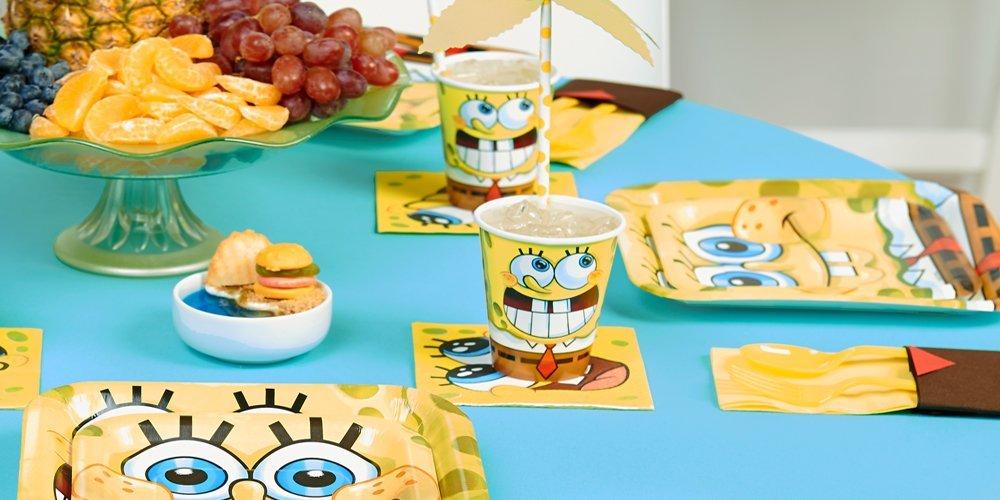 SpongeBob SquarePants Birthday Party Supplies