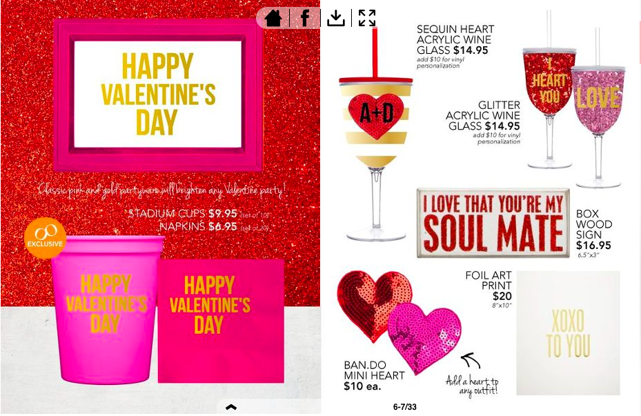 Valentines Day Cups & Napkins