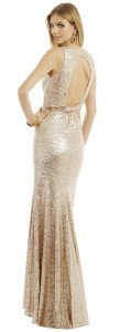 Badgley Mischka Twist it Out Gown, Reese Witherspoon Wild Costume, The Oscars Party Costumes